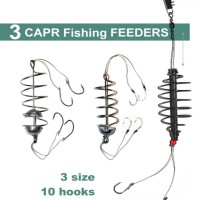 3 spring fishing feeder