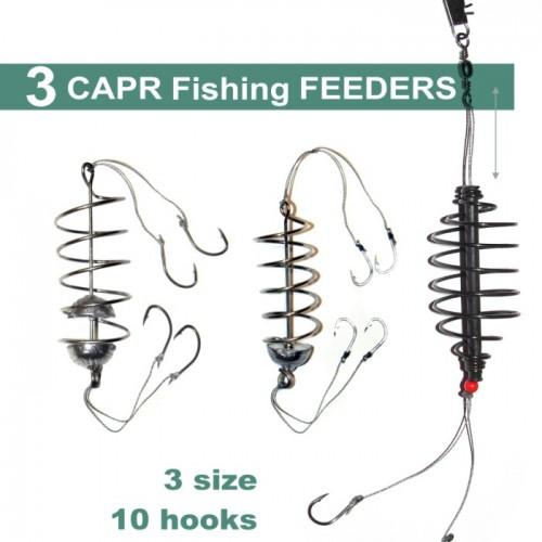 3 spring fishing feeder