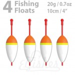4 fishing float 20g inline
