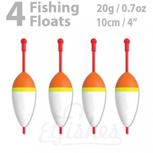 4 fishing float 20g inline