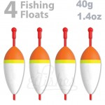 4 fishing float 40g inline