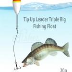 Float Fishing Montage treble triple 20g